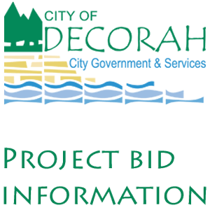 City of Decorah Project Bids
